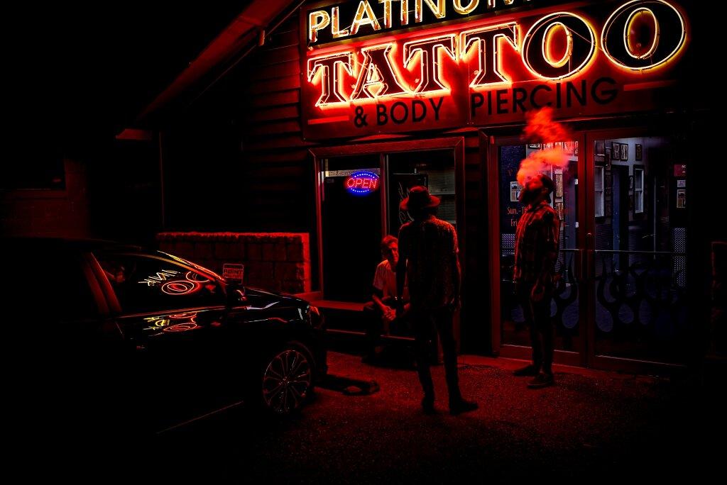 The Tattoo Shop.