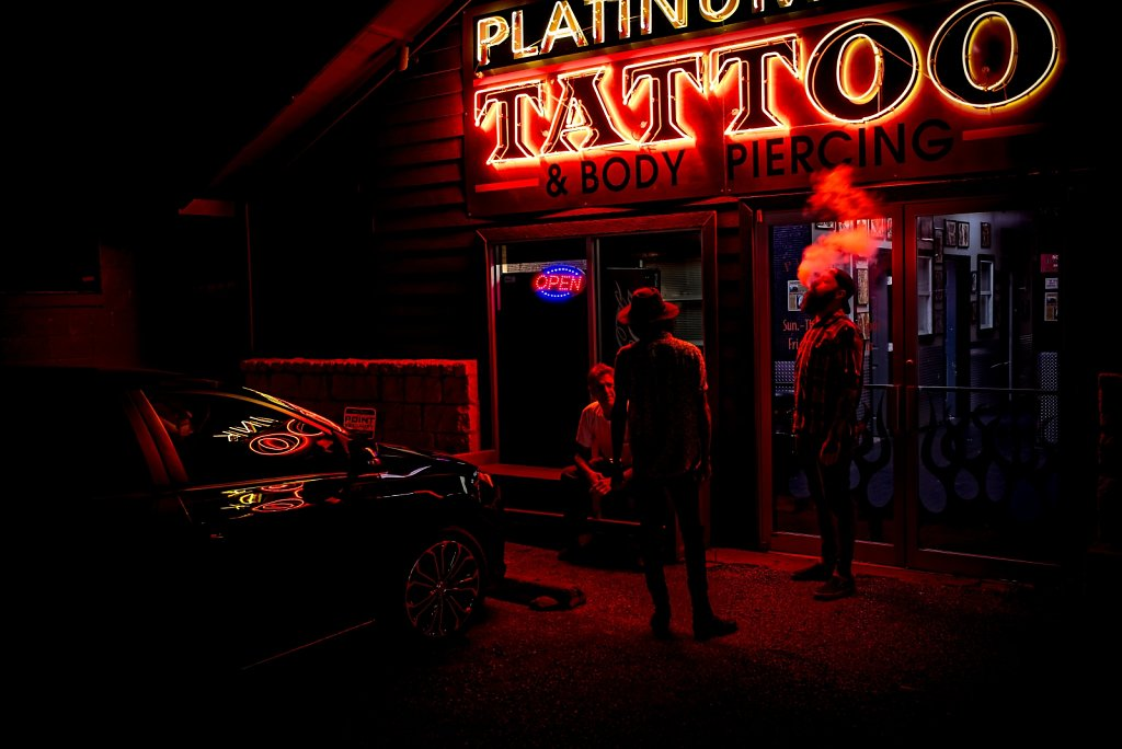 The Tattoo Shop.