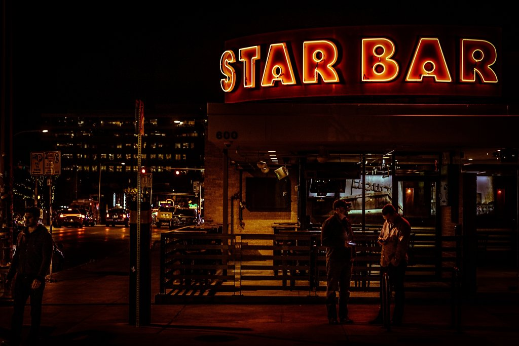 The Star Bar.