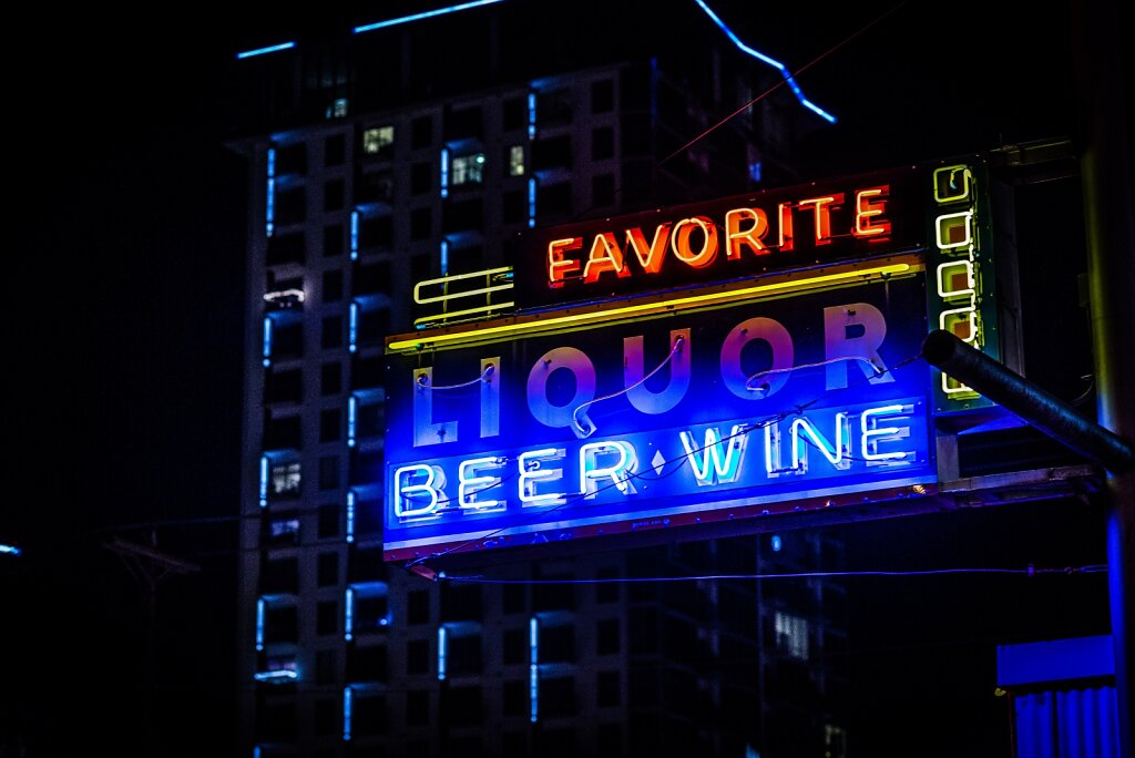 Downtown sign.