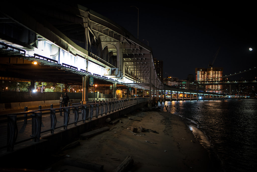 FDR Drive near the Brooklyn Bridge.
