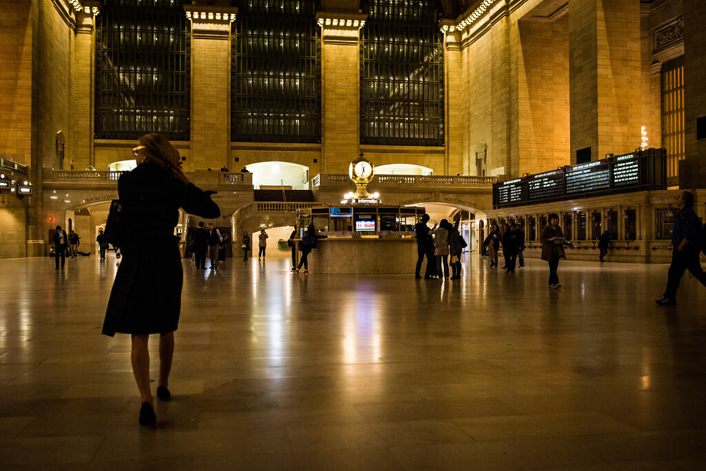 Main Concourse, Grand Central Terminal.