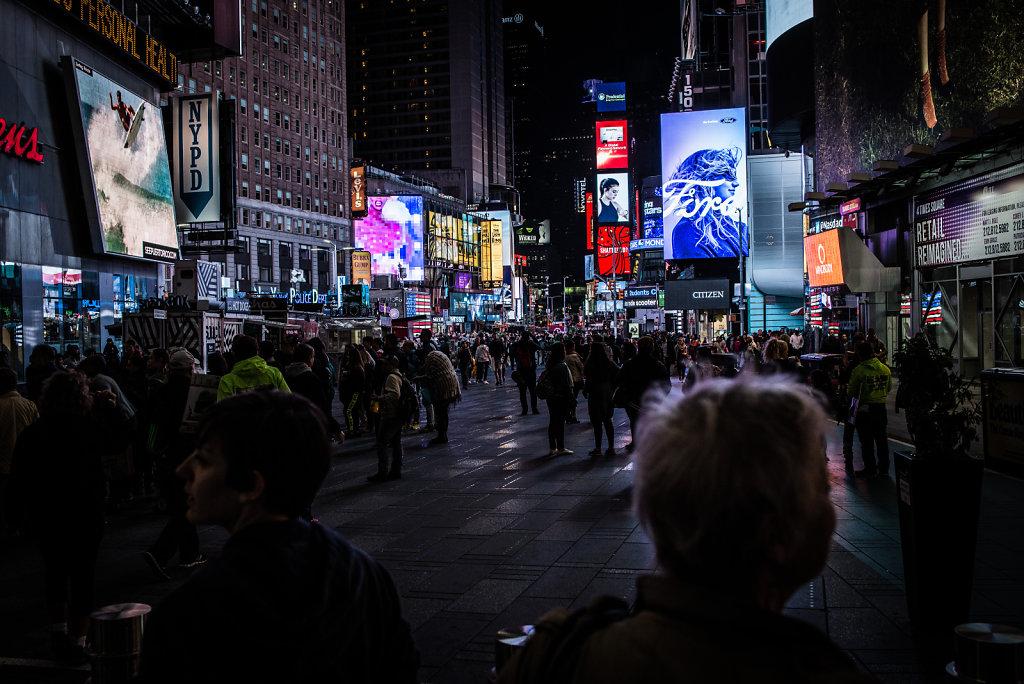 Times Square No. 1.