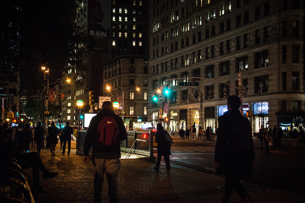 A Night Near The Flatiron